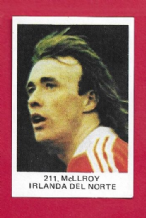 Northern Ireland Sammy McIlroy Manchester United 211 82WC